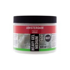 Matt zselés médium 020 Amsterdam Heavy - 500 ml