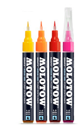 MOLOTOW GRAFX Aqua Ink Pump Softliner Deep Black