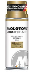 Spray MOLOTOW™ UFA Metallic 400 ml Silver