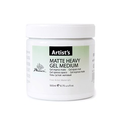 Matt médium zselé Heavy 500 ml
