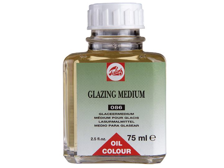 Olajos médium GLAZING TALENS 75ml