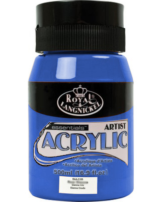 Royal Essentials akrilfesték 500 ml - Dark ultramarine