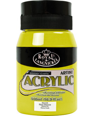 Royal Essentials akrilfesték 500 ml - Lemon Yellow