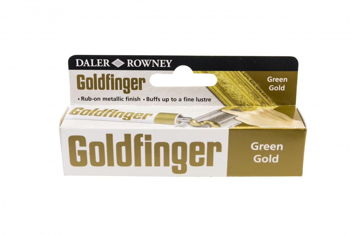 Daler - Rowney -  Goldfinger - green gold