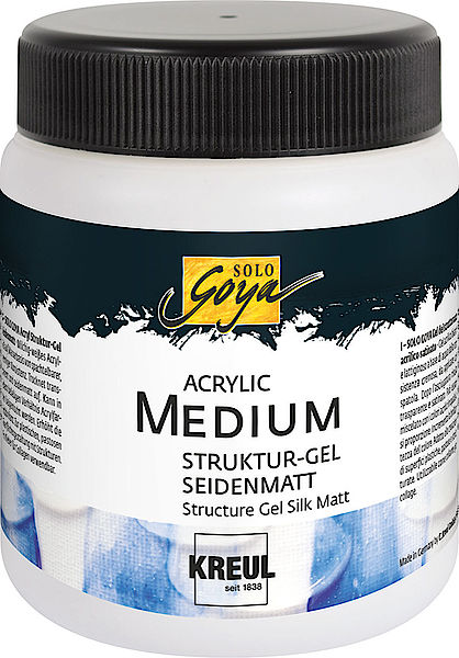 Struktúr zselé Silk Matt 250 ml