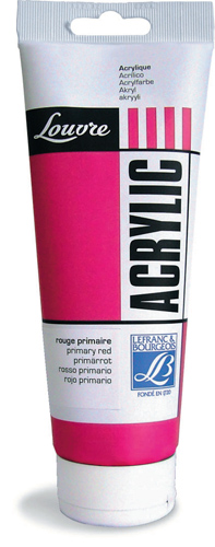 Akrilfesték ACRYLIC Louvre 200ml - Cadmium Yellow Medium