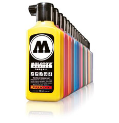 MOLOTOW tartalék töltet ONE4ALL 180 ml Metallic Gold