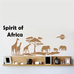 Home Design BRICO XXL sablon falra - Spirit of Africa