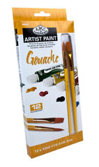 Gouache ARTIST Paint 12x12ml