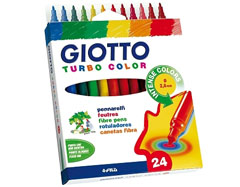 Filctollak GIOTTO TURBO COLOR / 24 szín