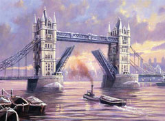 Kreatív festőkészlet - Tower Bridge A3