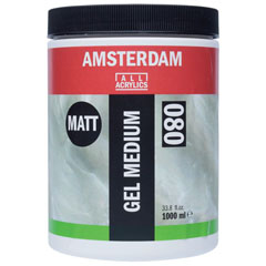 Matt médium zselé AMSTERDAM 1000ml