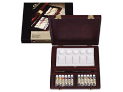 Koffer / Akvarellfesték REMBRANDT  Traditional BOX 12x5ml