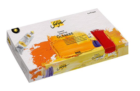 Olajfesték Finest Artists Solo Goya szett 8x55ml