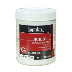 Zselés médium Liquitex matt 473 ml